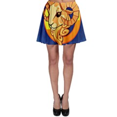 Zodiac Aries Skater Skirt