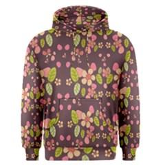 Floral pattern Men s Pullover Hoodie