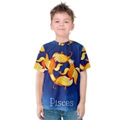 Zodiac Pisces Kids  Cotton Tee
