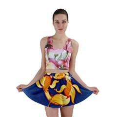 Zodiac Pisces Mini Skirt