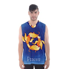 Zodiac Pisces Men s Basketball Tank Top