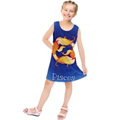 Zodiac Pisces Kids  Tunic Dress