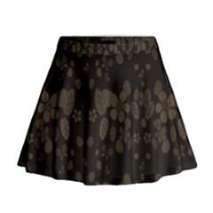 Floral pattern Mini Flare Skirt