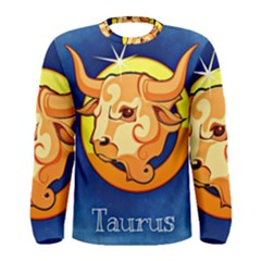 Zodiac Taurus Men s Long Sleeve Tee