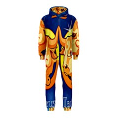 Zodiac Taurus Hooded Jumpsuit (Kids)
