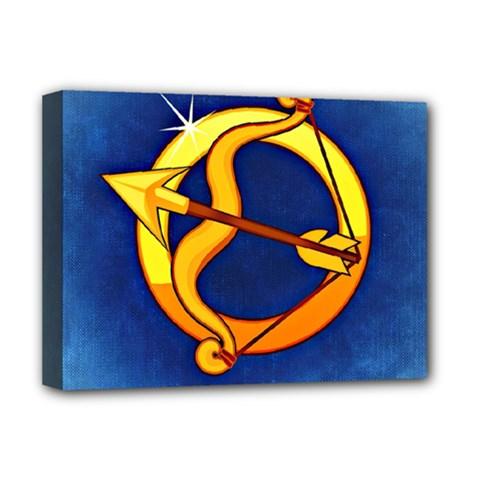 Zodiac Sagittarius Deluxe Canvas 16  x 12