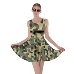 Army Camouflage Skater Dress