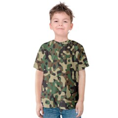 Army Camouflage Kids  Cotton Tee