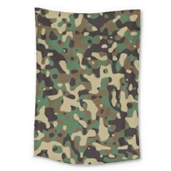 Army Camouflage Large Tapestry