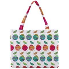 Watercolor Floral Roses Pattern Mini Tote Bag