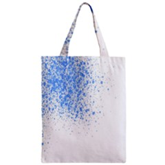 Blue Paint Splats Classic Tote Bag