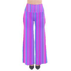 Blue And Pink Stripes Pants