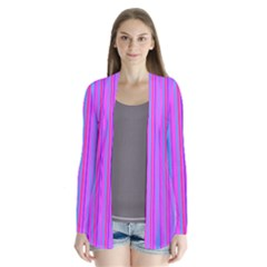 Blue And Pink Stripes Cardigans