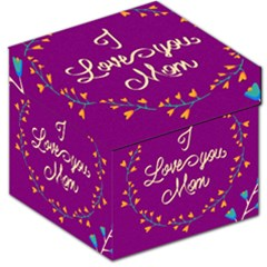 Happy Mothers Day Celebration I Love You Mom Storage Stool 12