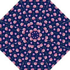 Watercolour Flower Pattern Straight Umbrellas