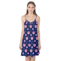 Watercolour Flower Pattern Camis Nightgown