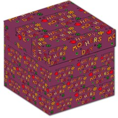 Happy Mothers Day Text Tiling Pattern Storage Stool 12