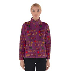 Happy Mothers Day Text Tiling Pattern Winterwear