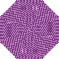Purple Zig Zag Pattern Background Wallpaper Folding Umbrellas