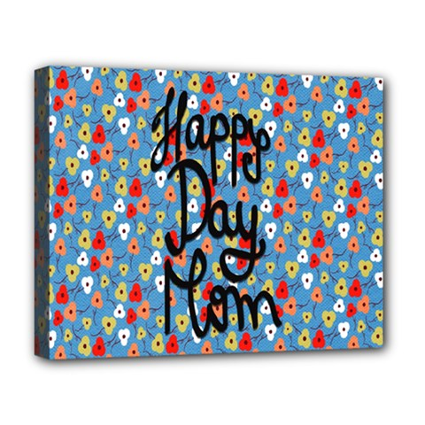Happy Mothers Day Celebration Deluxe Canvas 20  x 16