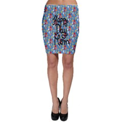 Happy Mothers Day Celebration Bodycon Skirt