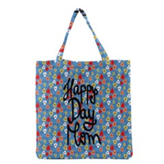 Happy Mothers Day Celebration Grocery Tote Bag