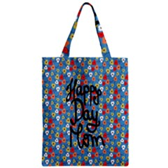Happy Mothers Day Celebration Zipper Classic Tote Bag