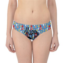 Happy Mothers Day Celebration Hipster Bikini Bottoms