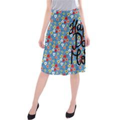 Happy Mothers Day Celebration Midi Beach Skirt