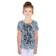 Happy Mothers Day Celebration Kids  One Piece Tee