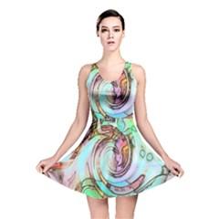 Art Pattern Reversible Skater Dress