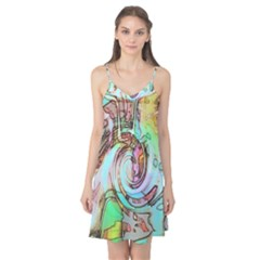 Art Pattern Camis Nightgown