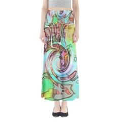 Art Pattern Maxi Skirts