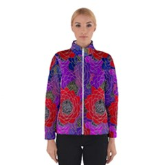 Colorful Background Of Multi Color Floral Pattern Winterwear