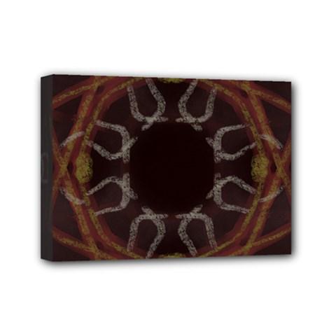 Digitally Created Seamless Pattern Mini Canvas 7  x 5