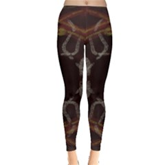 Digitally Created Seamless Pattern Leggings