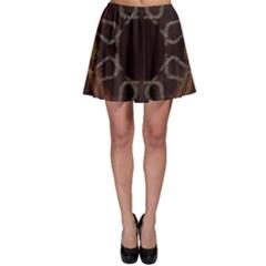 Digitally Created Seamless Pattern Skater Skirt