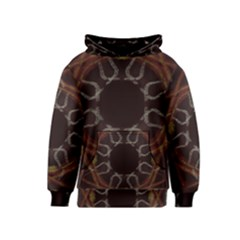 Digitally Created Seamless Pattern Kids  Pullover Hoodie