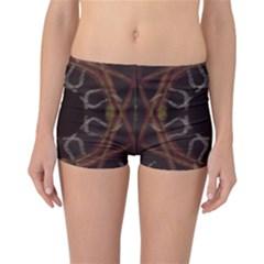 Digitally Created Seamless Pattern Reversible Bikini Bottoms