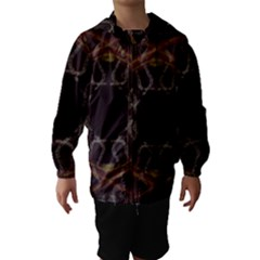 Digitally Created Seamless Pattern Hooded Wind Breaker (kids)