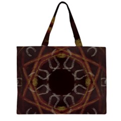 Digitally Created Seamless Pattern Large Tote Bag