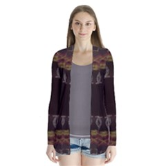 Digitally Created Seamless Pattern Cardigans