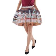 Carousel Lights A-Line Pocket Skirt