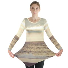 Sunlight on the Ocean Long Sleeve Tunic