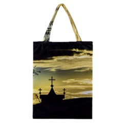Graves At Side Of Road In Santa Cruz, Argentina Classic Tote Bag
