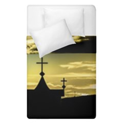 Graves At Side Of Road In Santa Cruz, Argentina Duvet Cover Double Side (Single Size)