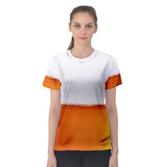 The Wine Bubbles Background Women s Sport Mesh Tee