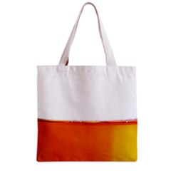 The Wine Bubbles Background Grocery Tote Bag