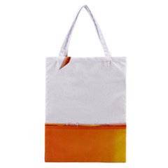 The Wine Bubbles Background Classic Tote Bag