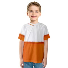 The Wine Bubbles Background Kids  Sport Mesh Tee